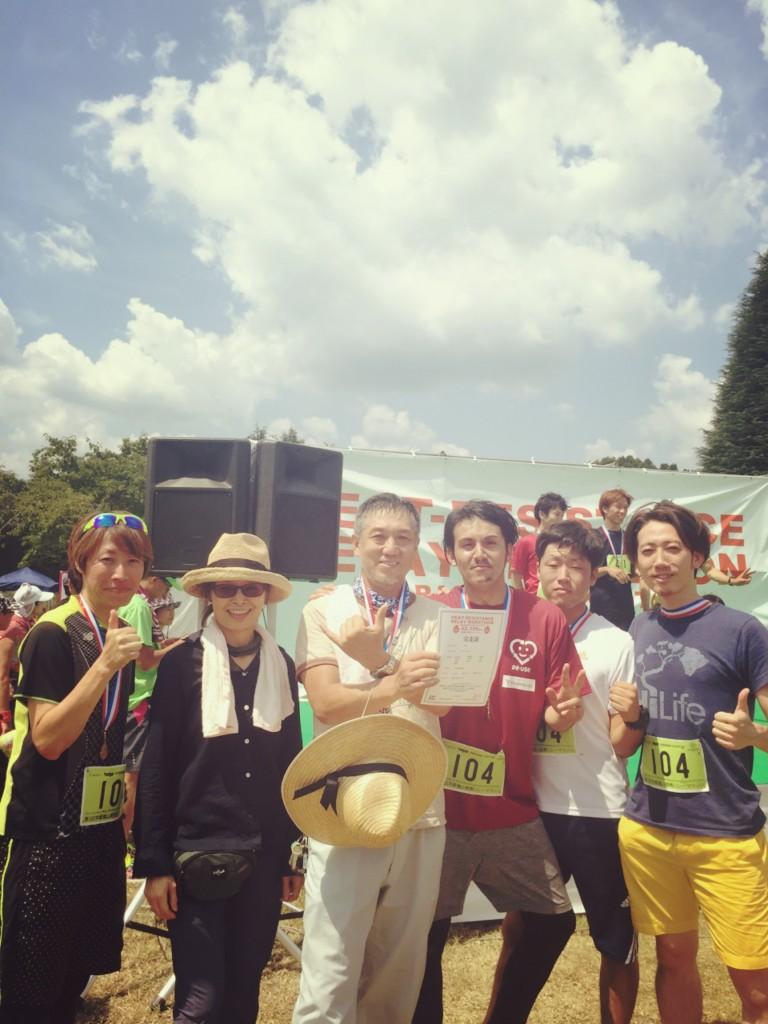 2016.8.7 嵐山耐熱リレーマラソン3